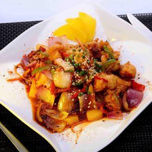 Shrimps Sweet & Sour