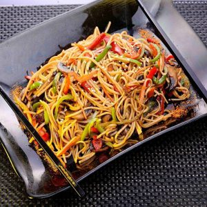 Vegetable Yaki Soba