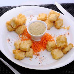 Wasabi Tofu