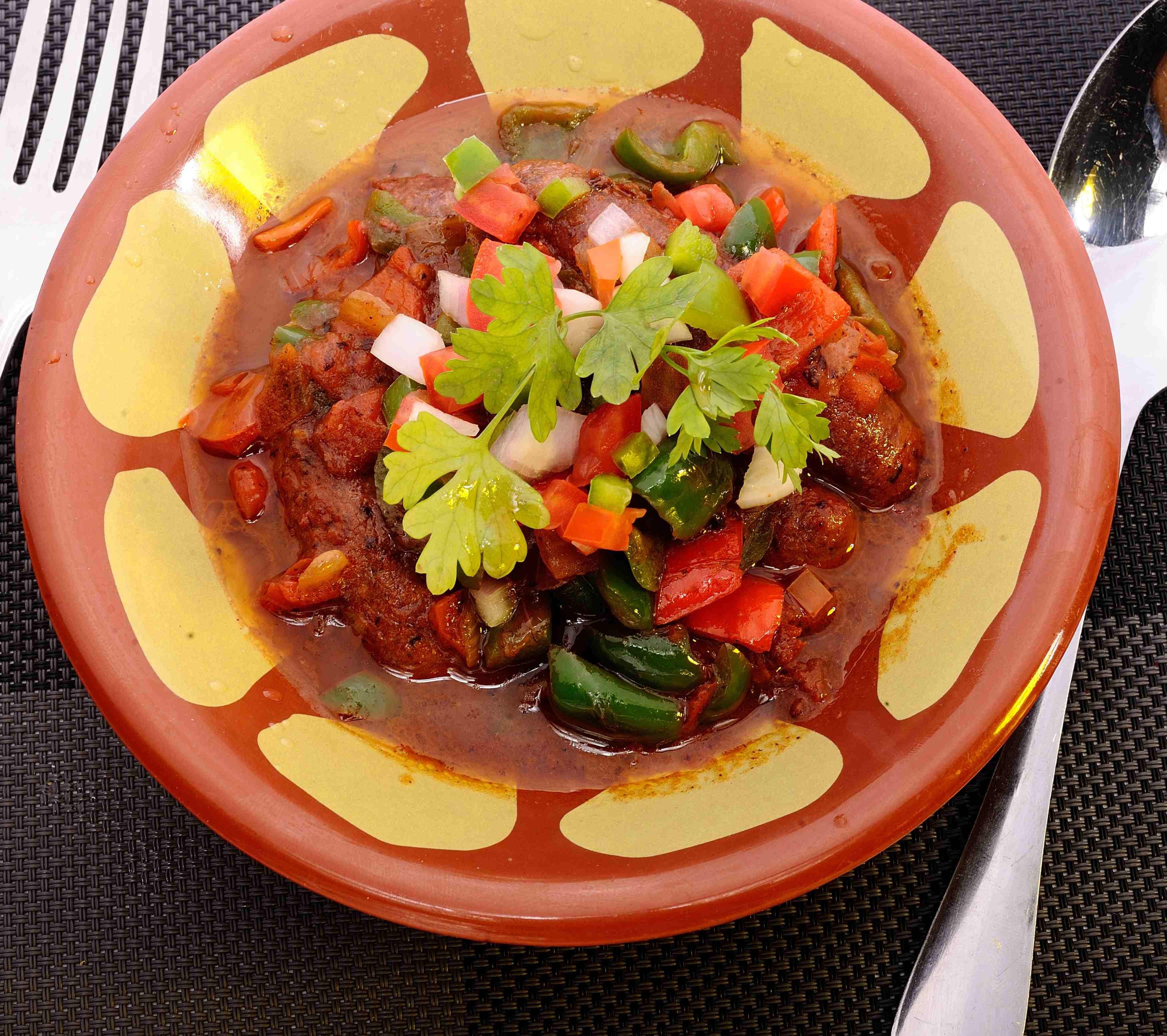 Armenian Spicy Sausage - Sujok - Platter