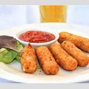 Fried Mozzarella(4Pcs)