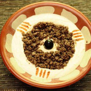 Hummus Qawarma