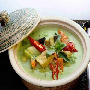 Kaeng Kiew Waan Koong Vegetable