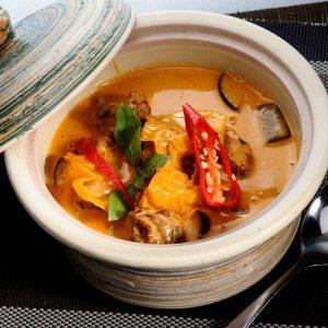 Panaeng Koong  Chicken