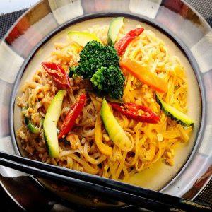 Phad Thai Koong  Vegetable