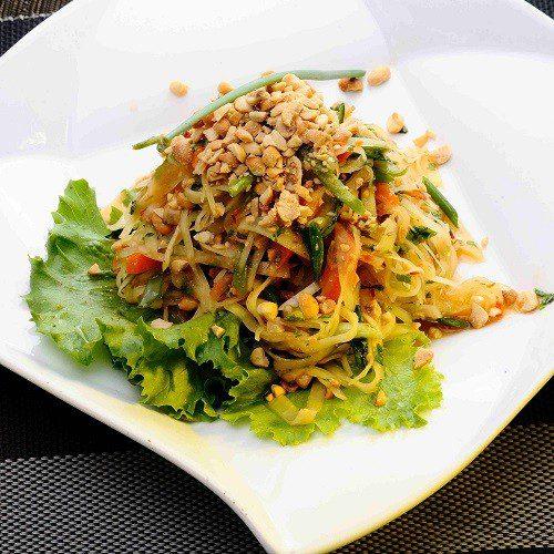 Som-Tum Koong/Chae(Papaya Prawns)