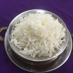 Steamed Basmatic Rice