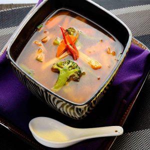 Tom Yam Koong Vegetable