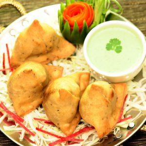 Vegetable Samosa (4Pcs)
