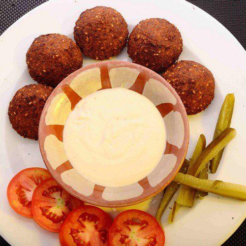 Falafel:( 5 Pcs)