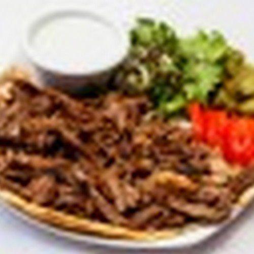 Lamb Shawarma plate: