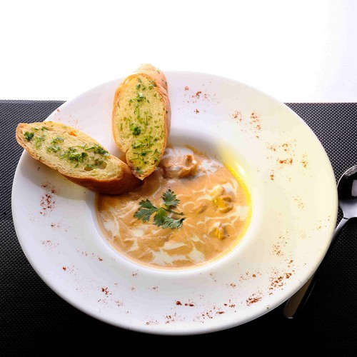 Shrimp bisque: