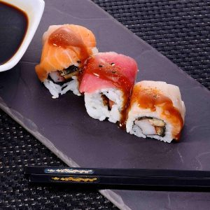 Chef Special Rainbow Maki(3Pcs)