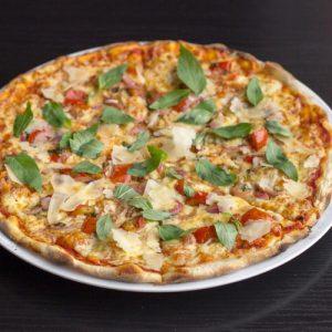 Veggie lovers pizza