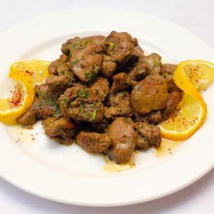 Chicken Liver Platter