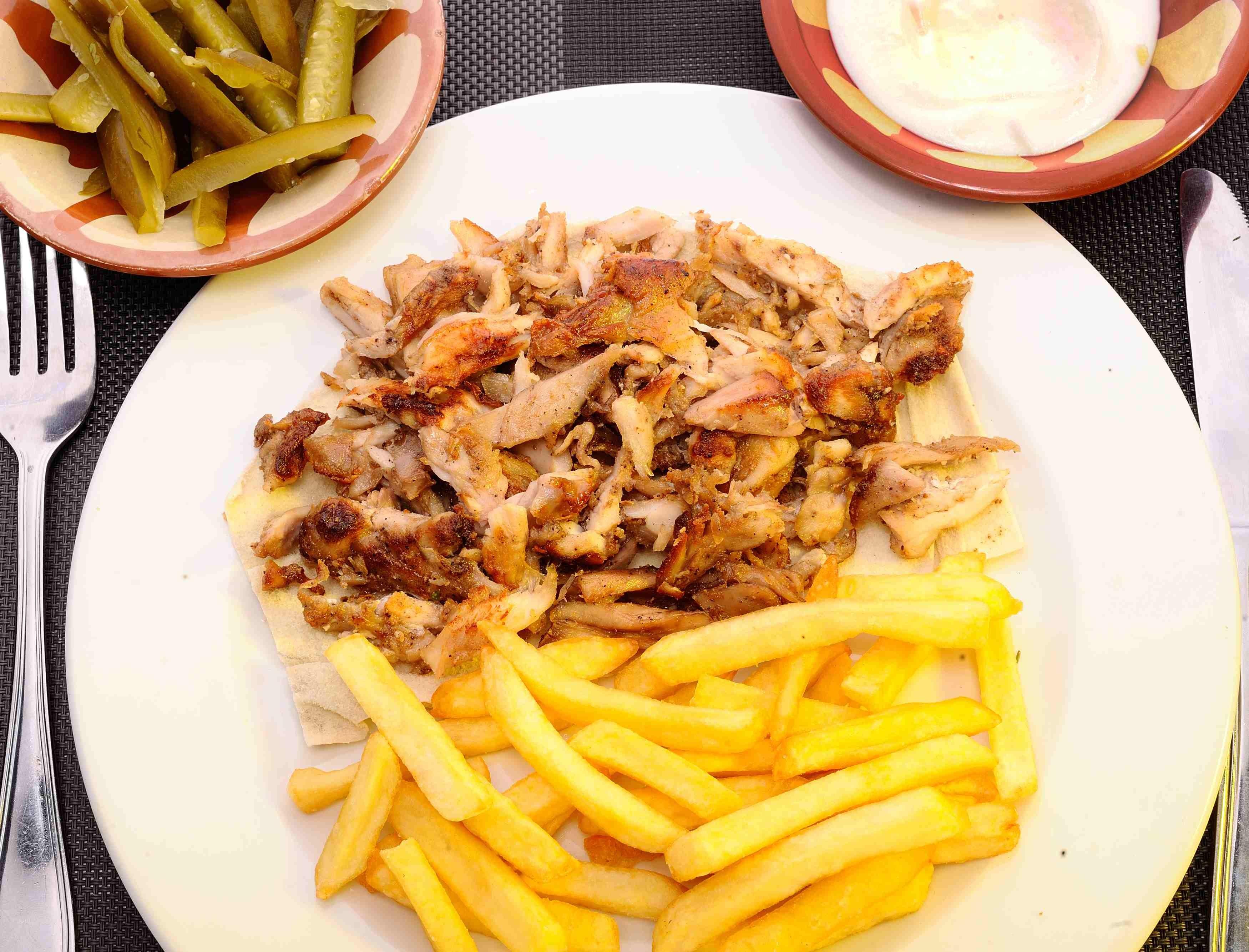 Shawarma Chicken - Platter