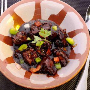Chicken liver platter: