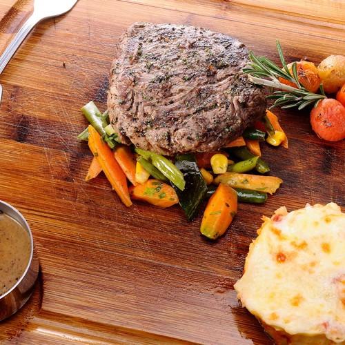 Serloin steak: