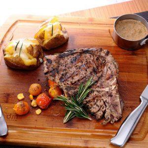 Tbone steak: